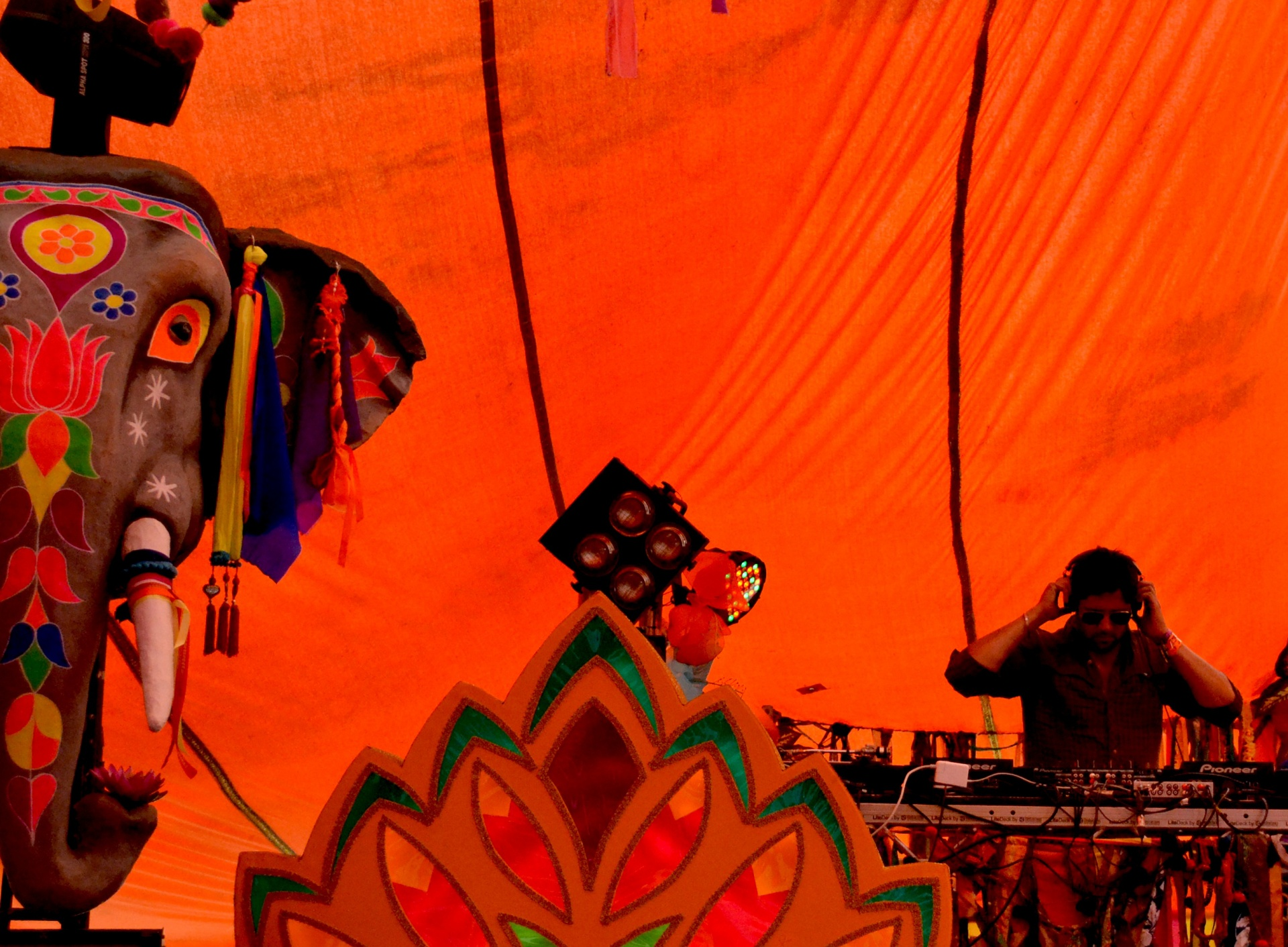 DJ SonnyJi performing at bestival
